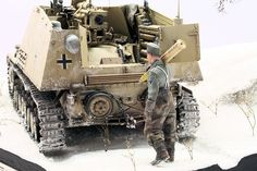 Nashorn from s.H.Pz.Abt.88 of III.Panzer-Army at Cherkassy in february 1944  by Dennis Braendle