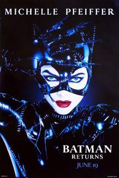 Batman Returns movie poster / Tim Burton Batman movies are the fuckin best, hands down. Catwoman killed it!