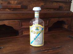 Vintage bottiglia Dry Gin / Originale bottiglia Red Hills / Regalo collezionista…