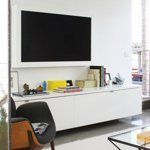 Storing the Boob Tube: 10 TV Solutions From Our House Tours   Apartment Therapy