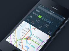 Subway station Info by heeyeun