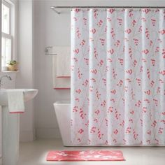 Keeco Pamela Shower Curtain - BedBathandBeyond.com