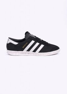 low priced 1acbc 4f937 Adidas Originals Footwear Hamburg Trainers - Black Shoes Online, Casual  Shoes, Adidas Originals,