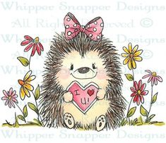 Love You Hedgy - Spring/Summer 2015 - Rubber Stamps - Shop