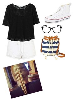 """""""Girls day out!!"""" by rikey-byrnes on Polyvore featuring Topshop, MANGO, Converse and Arizona"""