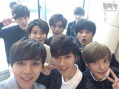 SMRookies - Johnny, Ten, Hansol, Jaehyun, Doyoung, Yuta, Taeyong and Mark