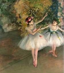 Edgar Degas     this piece is so  beautiful in person.