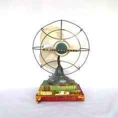 VINTAGE WESTINGHOUSE FAN/ Home Decor by orangedoorvintage on Etsy, $45.00
