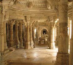 Ancien Temple Hindou. Inde.