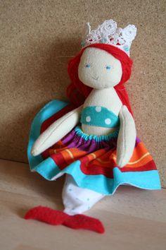 Princess Ariel - soft doll
