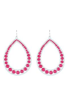 teardrop earrings $10.50