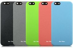 Case-for-iPhone-6-Bear-Motion-Ultra-Slim-Back-Cover-Case-for-iPhone-6-with-47-inch-Screen-Sand-Black-0-3