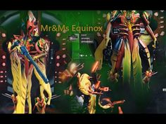 Warframe {Ms&Mr Equinox} {Dex Sybaris Twin Kohmak  Telos Boltace} Pc