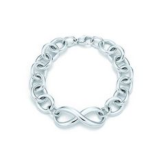 Tiffany Infinity bracelet in sterling silver, medium.
