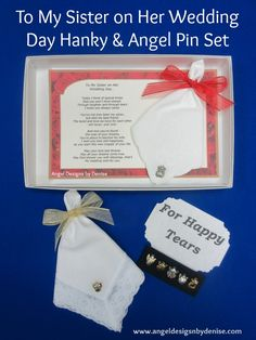 Gift Ideas For Your Sister On Her Wedding Day : Sister on Her Wedding Day Gift Set makes a perfect gift to give your ...