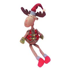 SunWardTM Elk Doll Cute Plush Toys Christmas Gift >>> Be sure to check out this awesome product.
