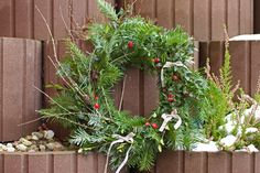 Přírodní adventní věnec na dveře / Naural Xmass advent wreath Home Crafts, Floral Wreath, Wreaths, Plants, Inspiration, Home Decor, Homemade Home Decor, Biblical Inspiration, Door Wreaths