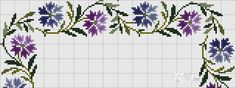 This Pin was discovered by sal Cross Stitch Borders, Cross Stitch Rose, Cross Stitch Flowers, Cross Stitch Charts, Cross Stitching, Cross Stitch Patterns, Folk Embroidery, Cross Stitch Embroidery, Embroidery Patterns