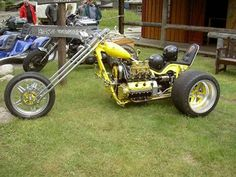 Trike. Thinking your legs are gona get bloody hot on this baby.