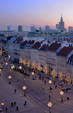 Warsaw, Poland, so I can bring my son where his name isn't strange at all.
