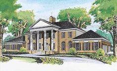 Plan 81420W: Grand Southern Home Plan