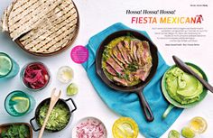Die mexikanische Küche ist nicht umsonst weltweit berühmt für die leckeren Enchiladas, köstlichen Fajitas und feurigen Soßen und Dips!   Women's Health Magazin  - DE 07-08/2016