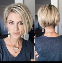 50 best ideas for short hairstyles 2020 Trend bob hairstyles 2019 - Frisur Ideen Cute Hairstyles For Short Hair, Straight Hairstyles, Trending Hairstyles, Long Haircuts, Pixie Bob Hairstyles, Longer Bob Hairstyles, Short Womens Hairstyles, Medium To Short Hairstyles, Short Hair With Undercut