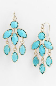 Kendra Scott 'Tierney' Chandelier Earrings available at Nordstrom
