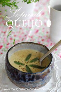 Sopa De couve flor e queijo