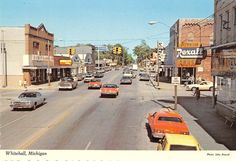 Whitehall Michigan Unspecified Street General Scene Vintage Postcard V21425 | eBay