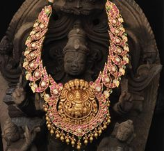 Necklace with Krishna pendant