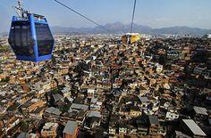 Il traffico appeso a un filo - Rio De Janeiro