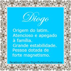 significado do nome diogo - Pesquisa Google