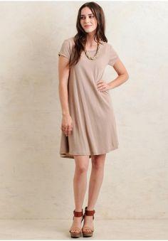 Looker swing dress modern vintage clothing ruche size s
