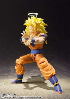 S.H.Figuarts: Super Saiyan 3 Son Goku Now Official! [Sep 17] Bandai should have done a battle version for this one.