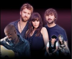 "GRAMMY WINNING GROUP LADY ANTEBELLUM TO BRING ""OWN THE NIGHT 2012 WORLD TOUR"" TO SNOWDEN GROVE AMPHITHEATER ON JUNE 28TH!"