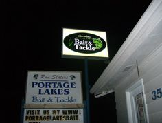 """If you're fishing Portage Lakes or up by Akron, Ohio, here is a great place to buy your fishing supplies.  If nothing else just go in and say """"hi"""" to Ron!"""