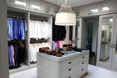 Lisa Vanderpump new Beverly Hills home - Ken's closet. Villa Rosa, Lisa Vanderpump, Vanderpump Rules, Beverly Hills Houses, Housewives Of Beverly Hills, Men Closet, Master Bedroom Closet, Dream Closets, Formal Living Rooms