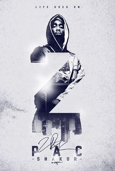 2Pac Shakur Banner