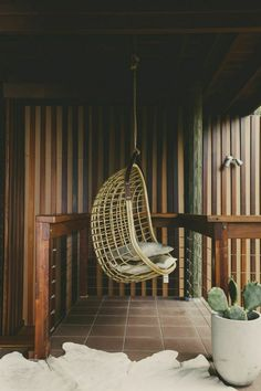 Unique hanging chairs inspired by the 70's #banditabodes #theforeignarchives #inspo