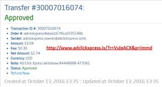 Here is my #77 Withdrawal Proof from Ad Click Xpress. I get paid daily and I can withdraw daily. Online income is possible with ACX, who is definitely paying - no scam here. I WORK FROM HOME less than 10 minutes and I manage to cover my LOW SALARY INCOME. If you are a PASSIVE INCOME SEEKER, then AdClickXpress (Ad Click Xpress) is the best ONLINE OPPORTUNITY for you. Join for FREE and get 20$ + 10$ + 5$ Monsoon, Ad and Media value packs from ACX.