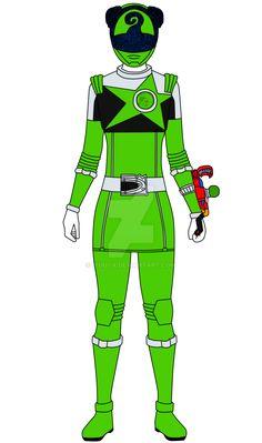 My take on the first core female Green Ranger from the upcoming Uchu Sentai Kyuranger, Chameleon Green. Power Rangers Art, Green Ranger, Kamen Rider Series, Chameleon, Pokemon, Deviantart, Drawing, Disney, Character Design