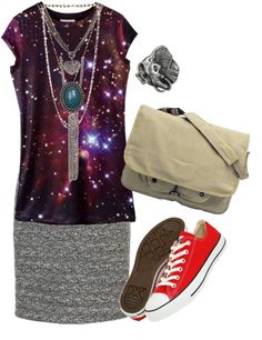 """""""Wardrobe planner Galaxy tee two"""" by cerezadecristal on Polyvore"""
