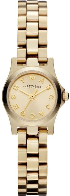 Marc by Marc Jacobs Henry Dinky Rose Goldtone Stainless Steel Bracelet Watch Stainless Steel Jewelry, Stainless Steel Watch, Marc Jacobs Jewelry, Marc Jacobs Watch, Silver Rounds, Michael Kors Watch, Gold Watch, Jewelry Watches, Silver Watches