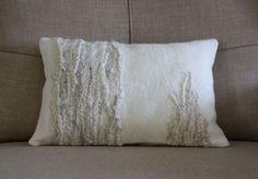 felted cushion