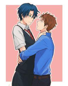 Hori x Kashima / Gekkan Shoujo Nozaki-kun Kashima, Barakamon, Me Me Me Anime, Anime Guys, Manhwa, Monthly Girls' Nozaki Kun, Otaku, Anime Love Couple, Couple Stuff