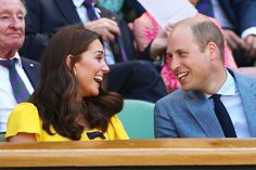 Kate Middleton Photos - Catherine, Duchess of Cambridge and Prince William, Duke of Cambridge attend the Men's Singles final on day thirteen of the Wimbledon Lawn Tennis Championships at All England Lawn Tennis and Croquet Club on July 15, 2018 in London, England. - Day Thirteen: The Championships - Wimbledon 2018