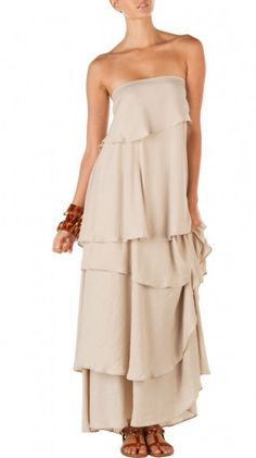 Light Grey Summer Dress.