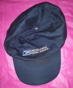 ff63707cc99 USPS Navy Blue Embroidered Hat Cap Adjustable United States Postal Service  OS  fashion  clothing