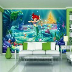 Papier peint XXL La Petite Sirène Princesse Disney